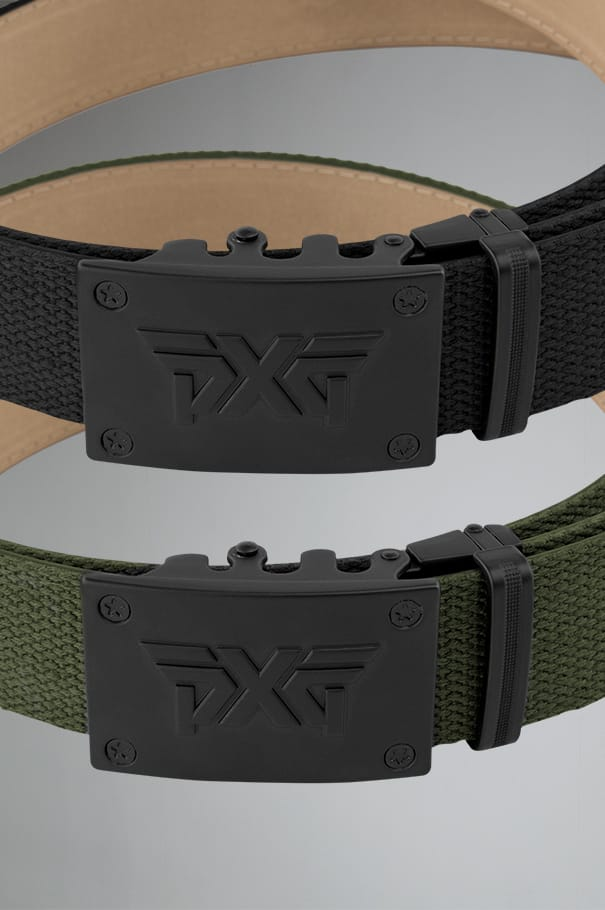 Ratchet Belt - Black/OD Green Rollover Image