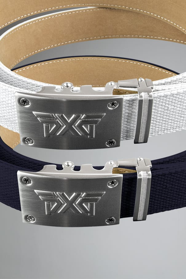 Ratchet Belt - Navy/White Rollover Image