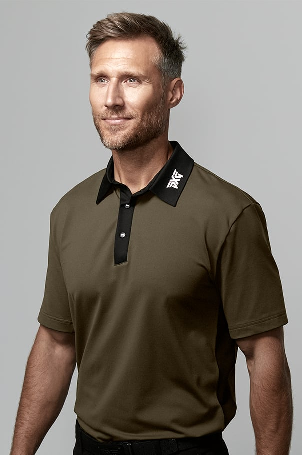 Short Sleeve Xtreme Polo Rollover Image