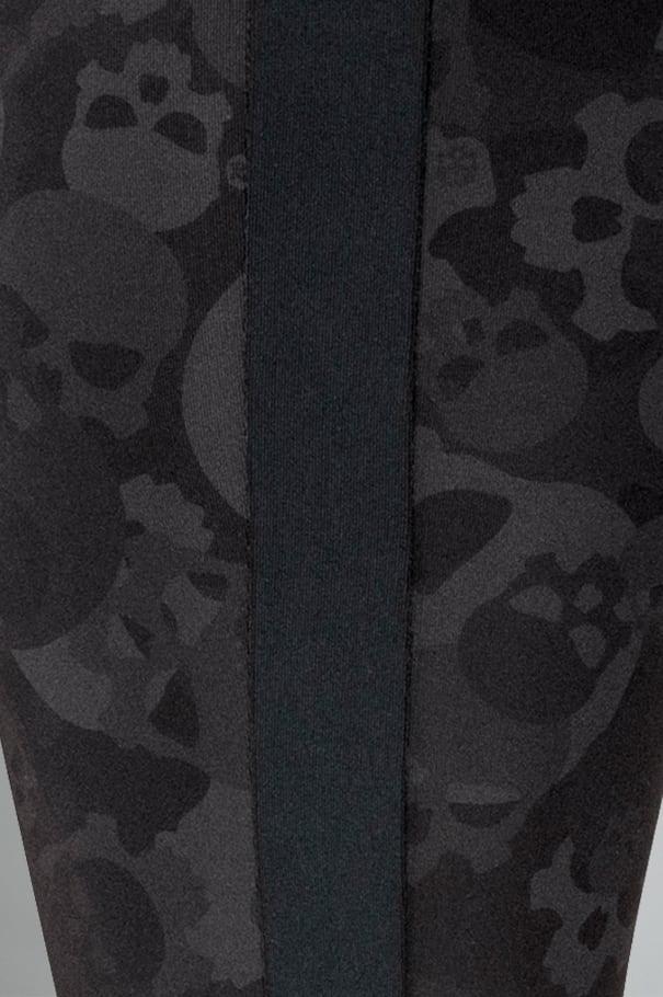 Darkness High-Rise Skull Camo Leggings Rollover Image