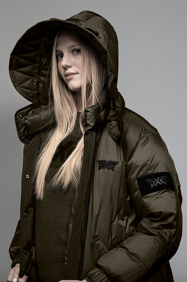 Safari Down Coat Rollover Image