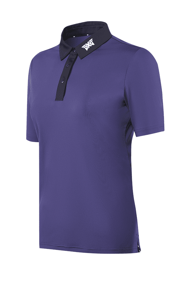 Cobalt Black Collar Polo Listing Image