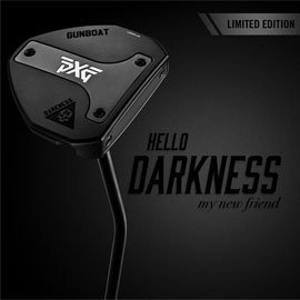 PXG releases 'Gunboat Darkness' putters on Black Friday