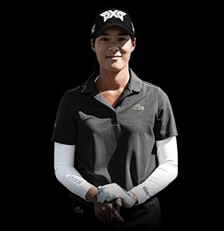Celine Boutier plays PXG