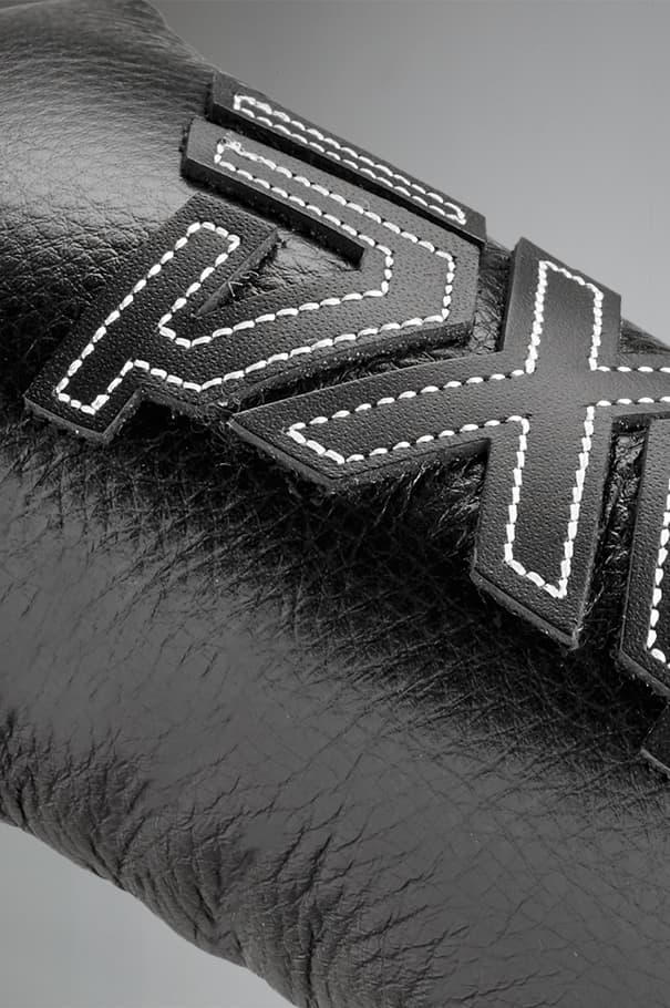 PXG Lifted Black Leather Blade Cover Rollover Image