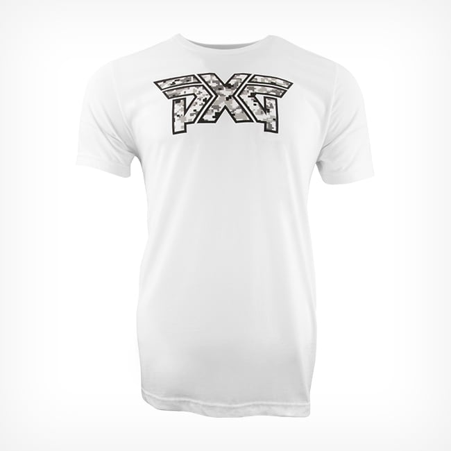 Men's PXG Snow Camo Logo Tee Listing Image