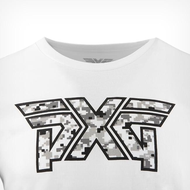 Men's PXG Snow Camo Logo Tee Rollover Image