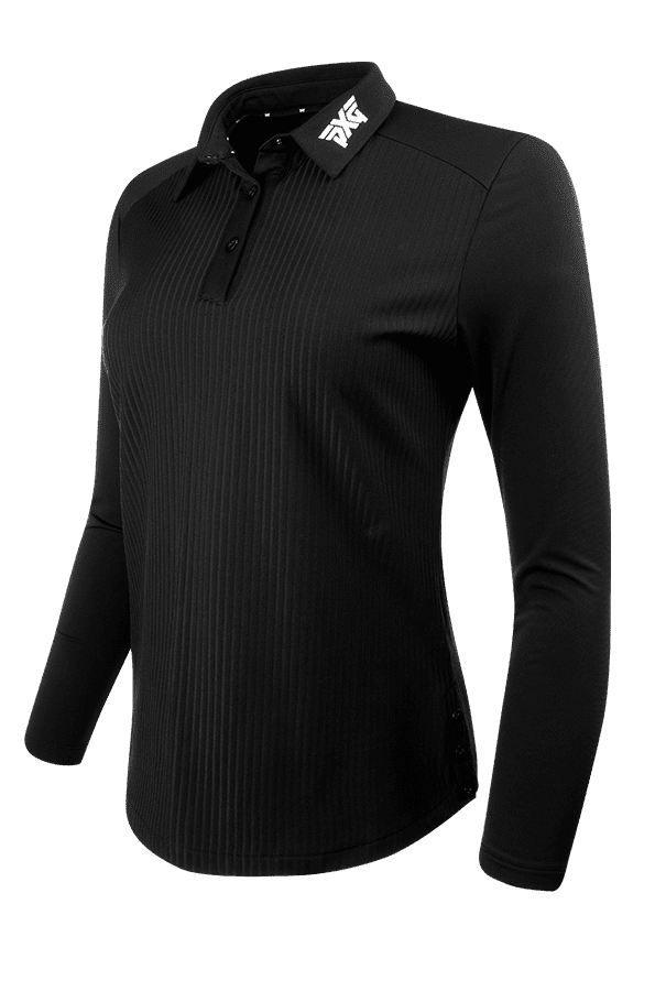 Long Sleeve Snap Polo Listing Image
